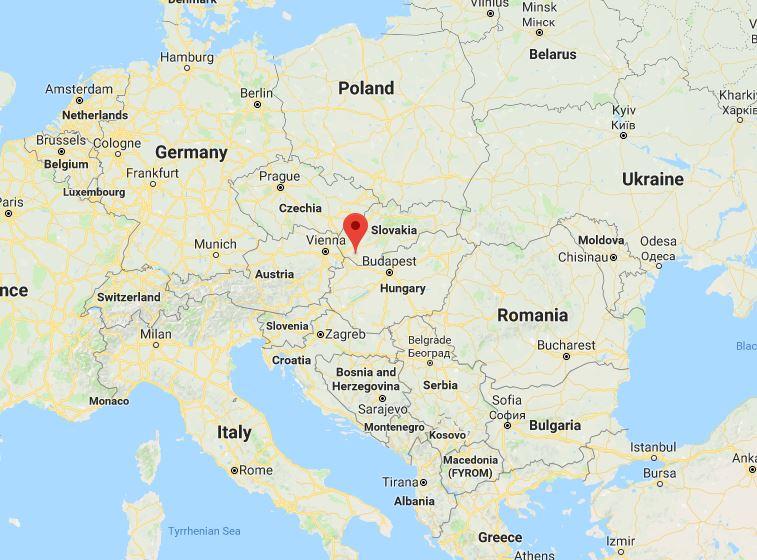 Дунайска Стреда - идеальное географическое положение